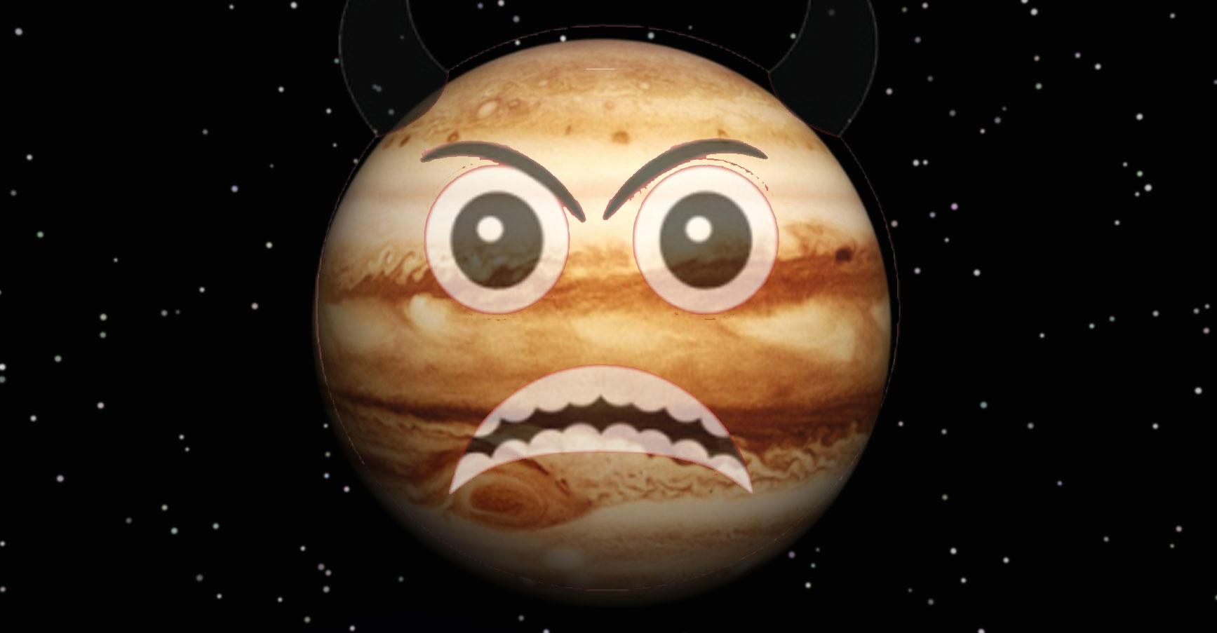 Angry Jupiter