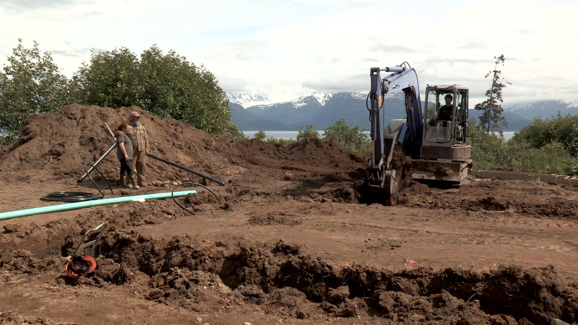 Working on shane s new homestead alaska the last for How to get a homestead in alaska