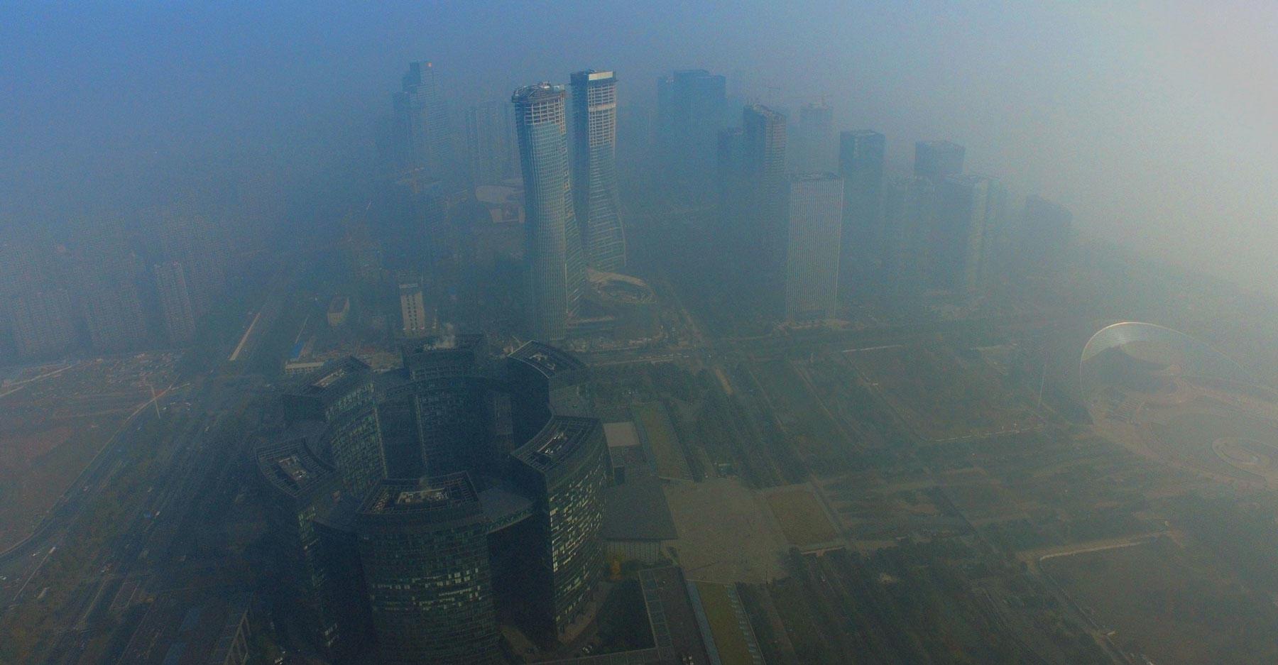Smog in China Dec 2015