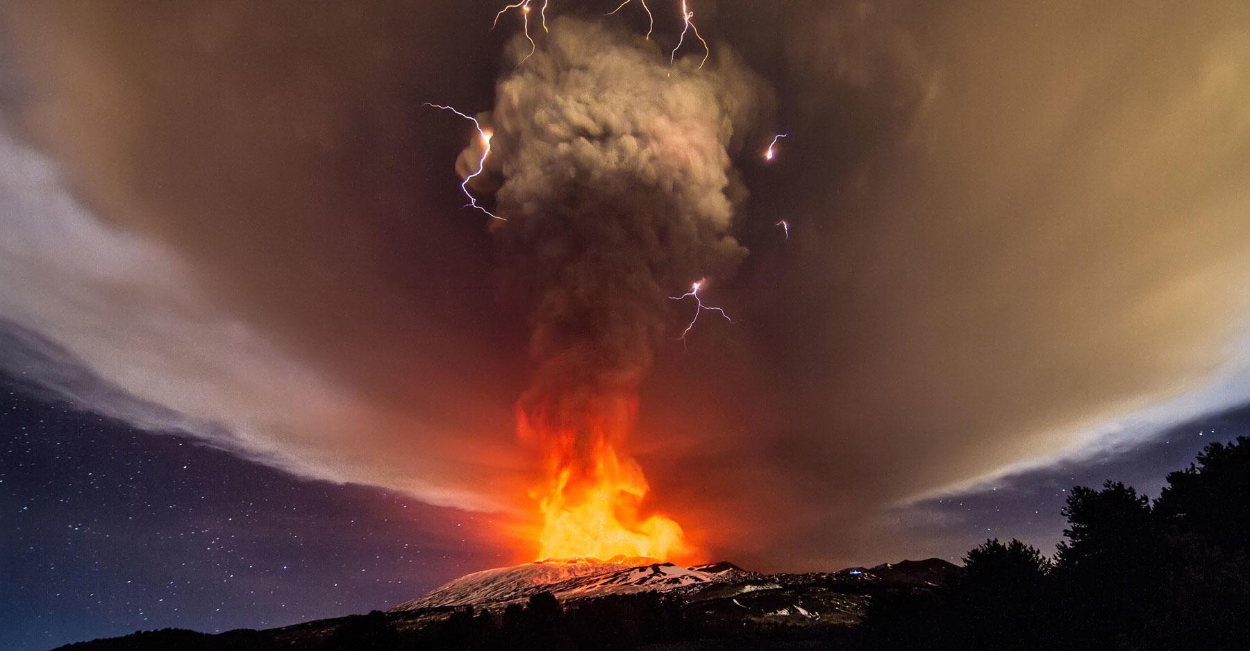 Mount Etna December 2015 eruption