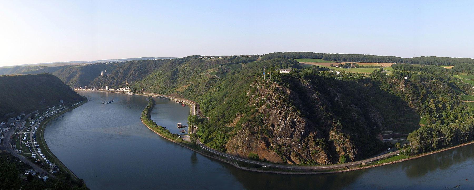 The Rhine in Germany