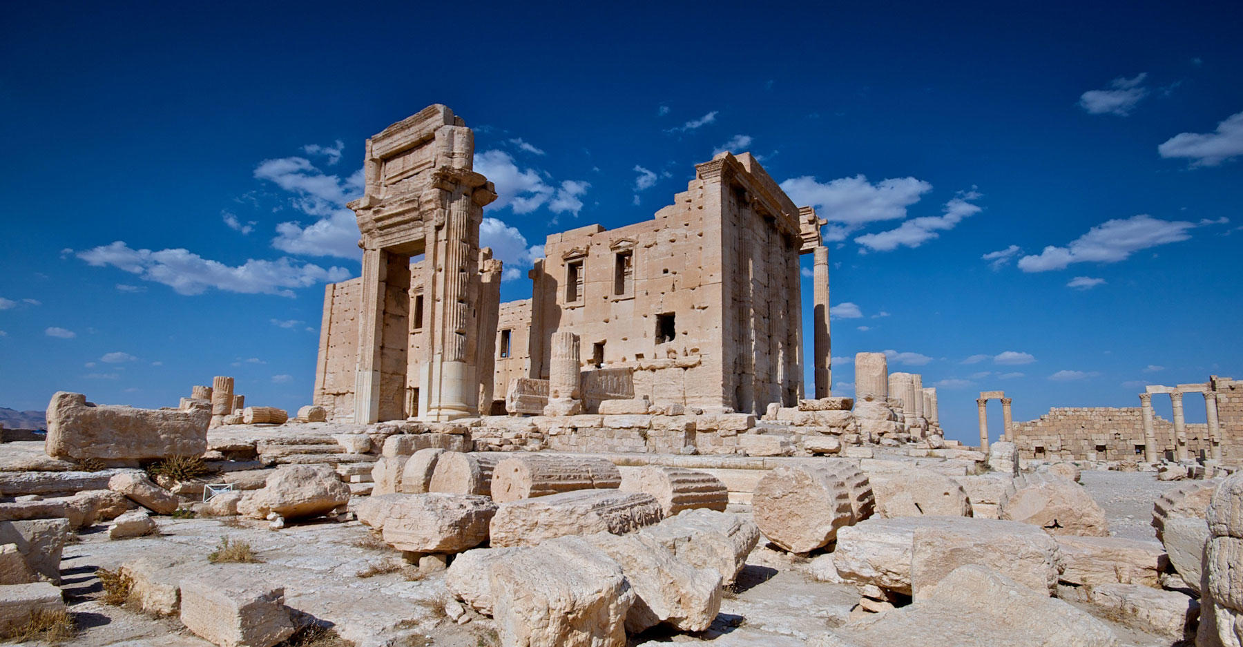 Temple of Bel in Syria