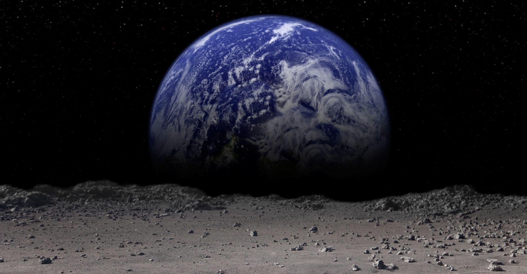 Tierra creciente.