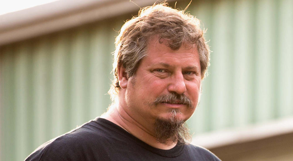 Tom Smith from the hit series Misfit Garage on Discovery.