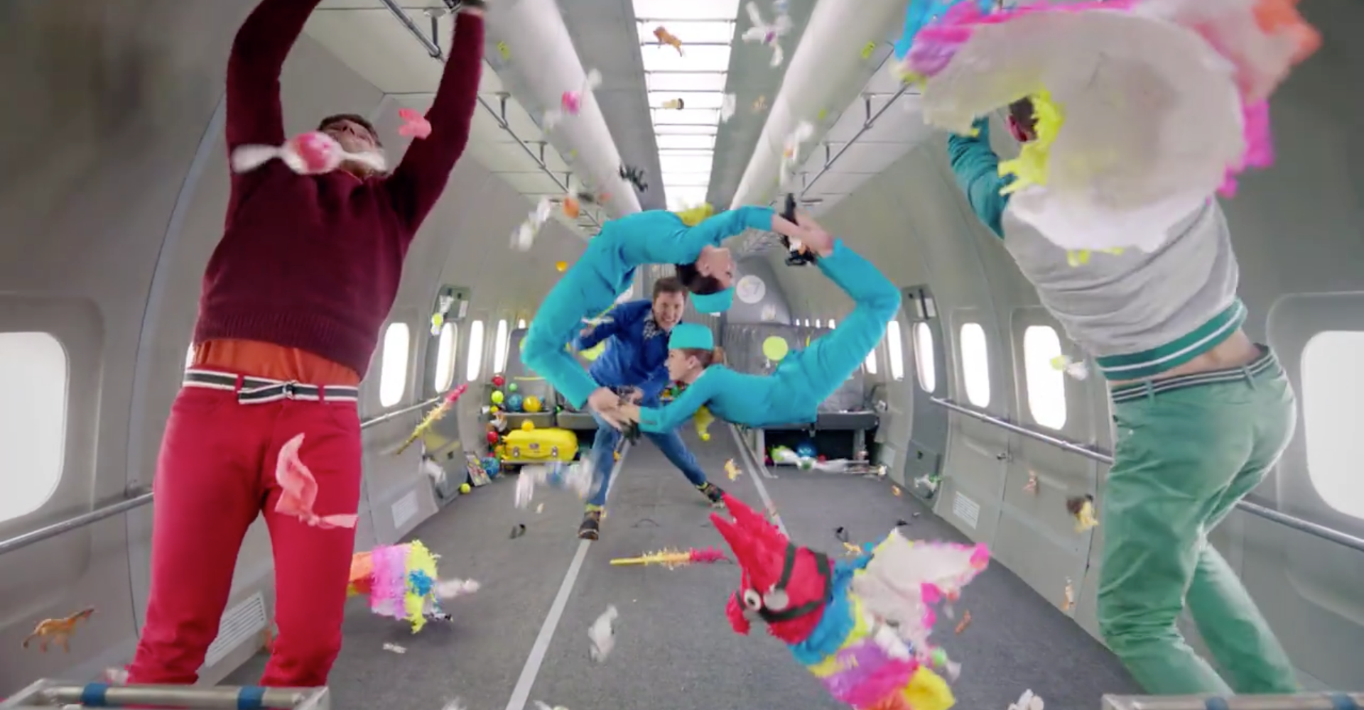 "OK Go ""Upside Down & Inside Out"