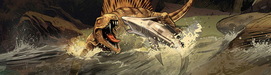 The Creature That Feasted on Prehistoric Sharks