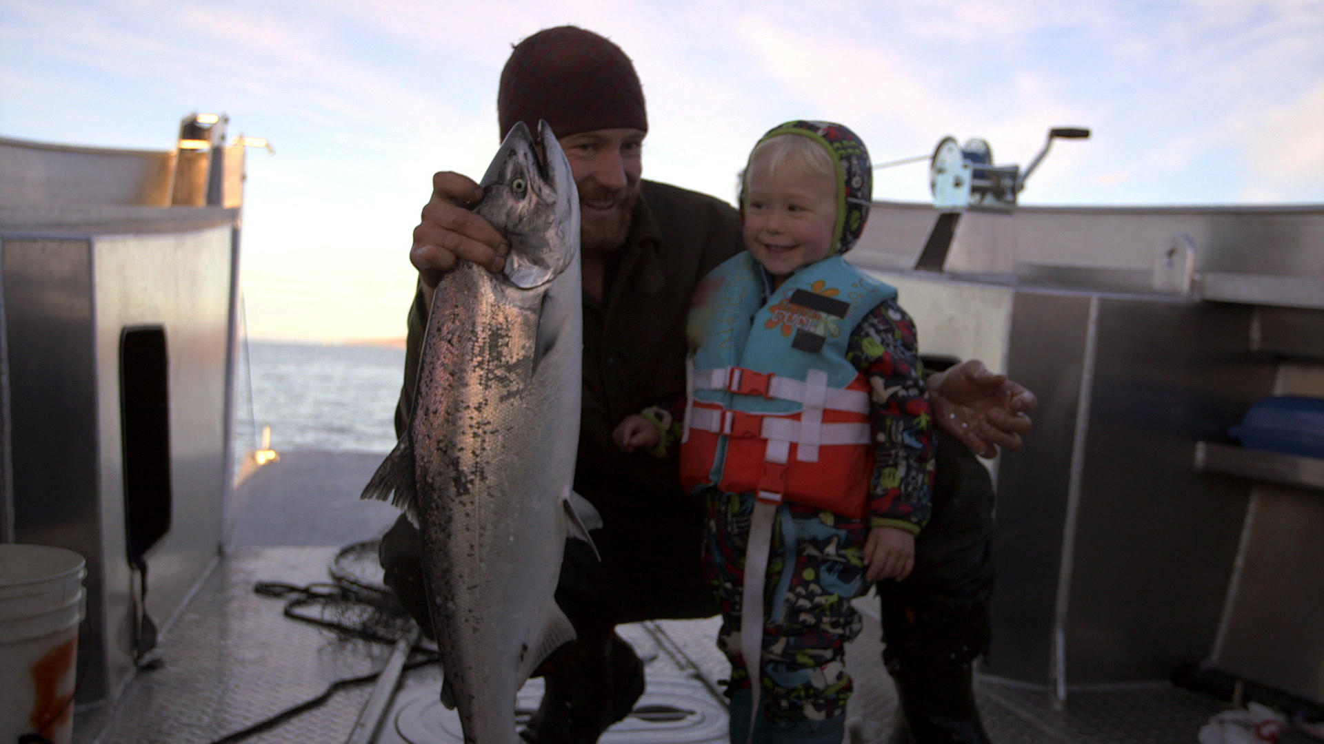 Findlay and sparrow go fishing alaska the last frontier for Fishing tv shows