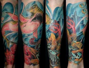 Joshua Bauers Tattoo