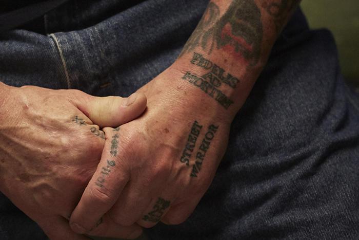 Ralph Friedman's Tattoos