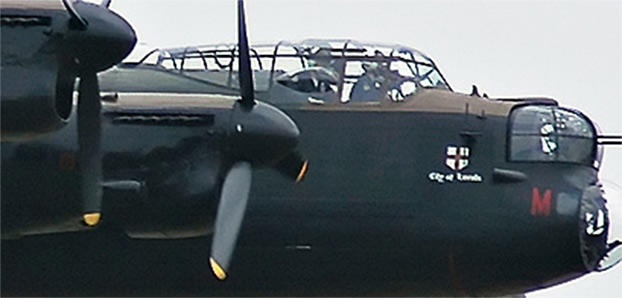 Hugely important British bomber during WWII.