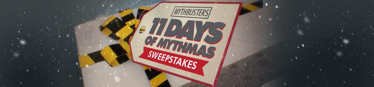 MythBusters Sweepstakes