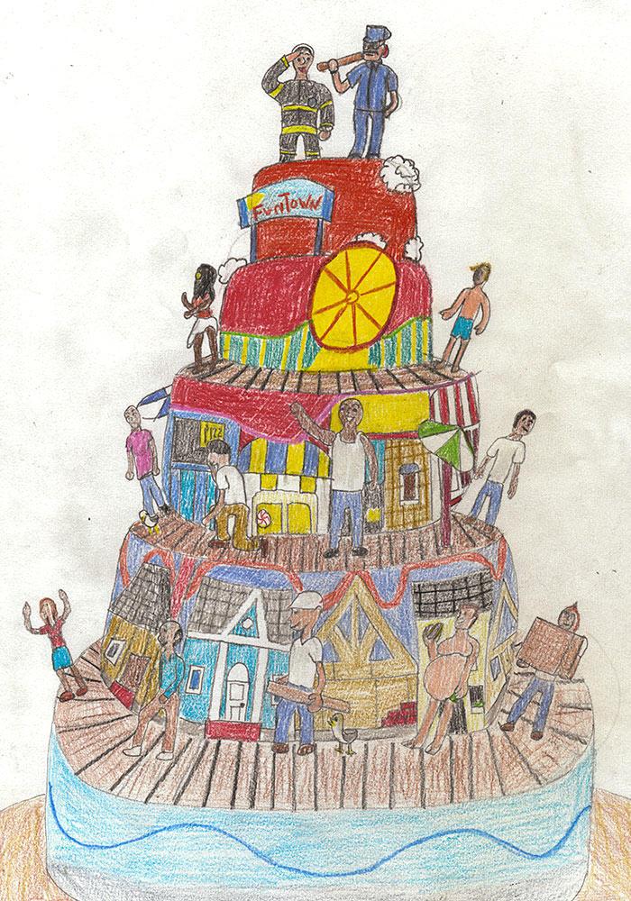 Buddy S Sketchbook Season 6 Cake Boss Tlc