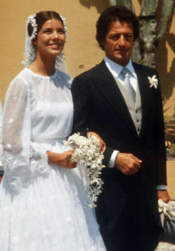 Princess Caroline is living proof that life as a royal is anything but fancy-free, particularly when it comes to lifelong commitment. Her first marriage ended in divorce after only two years, followed by her second husband's untimely death in a boating accident. Her current marriage to Prince Ernst August of Germany is on shaky ground following publication of lovey-dovey photos of him and another woman.