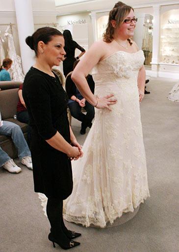 The Broad-shouldered Bride: Jennifer J.