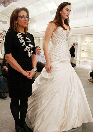 The Pampered Pushover: No bride spending $10,000 wants to have any doubts about her dress. Even if a family member or friend is urging you to go in another direction, the bride just needs to remember that she's the only one who says yes to the dress.