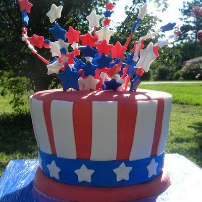 We asked TLC.com fans how they like to celebrate the Fourth of July and they sent in these great patriotic pics! Take a look at Hillary Brooks' Fourth of July cake!
