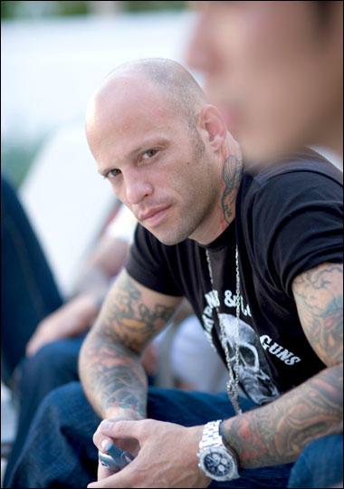 Ami James from Miami Ink.