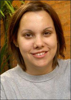 Alisha After  Alisha's new haircut.