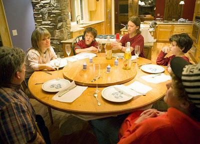 The Roloff family, 2007.