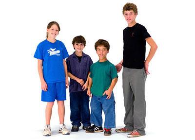 Molly, Jacob, Zack and Jeremy Roloff, 2007.