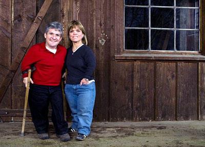 Matt and Amy Roloff, 2008.