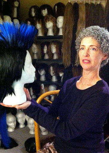 Over 15 years, Tamis has amassed an extensive collection of wigs -- it currently exceeds the 2,000 mark.