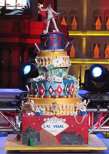 Ashley's pyro-heavy, detailed Vegas cake wowed the crowed and earned her the title of Next Great Baker!