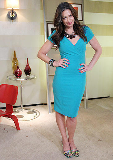 Teal Dress by