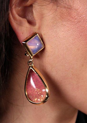 Drop earrings by Kara Ross/kararossyn.com