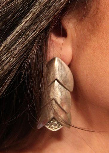 Earrings by Giles & Brother/gilesandbrother.com