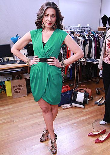 Green Dress by