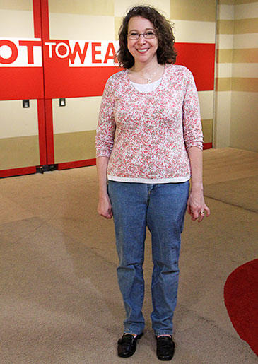 Elizabeth is a loving wife and mother, but she embarrasses her family with her floral shirts and mom jeans.