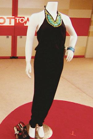 Serrita's mannequin.