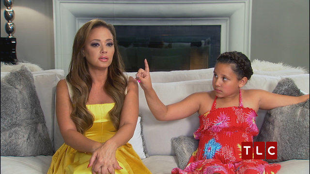 Leah Remini And Daughter