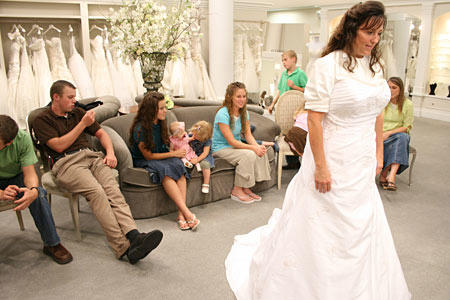 Michelle Duggar S Wedding Dress 19 Kids And Counting Tlc