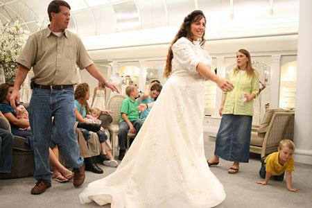 Michelle Duggar Wedding Dress 4