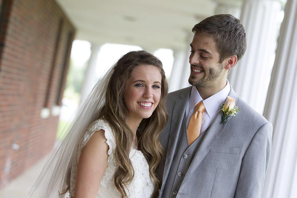 Jill Duggar And Derick Dillards Wedding Photos 19 Kids And