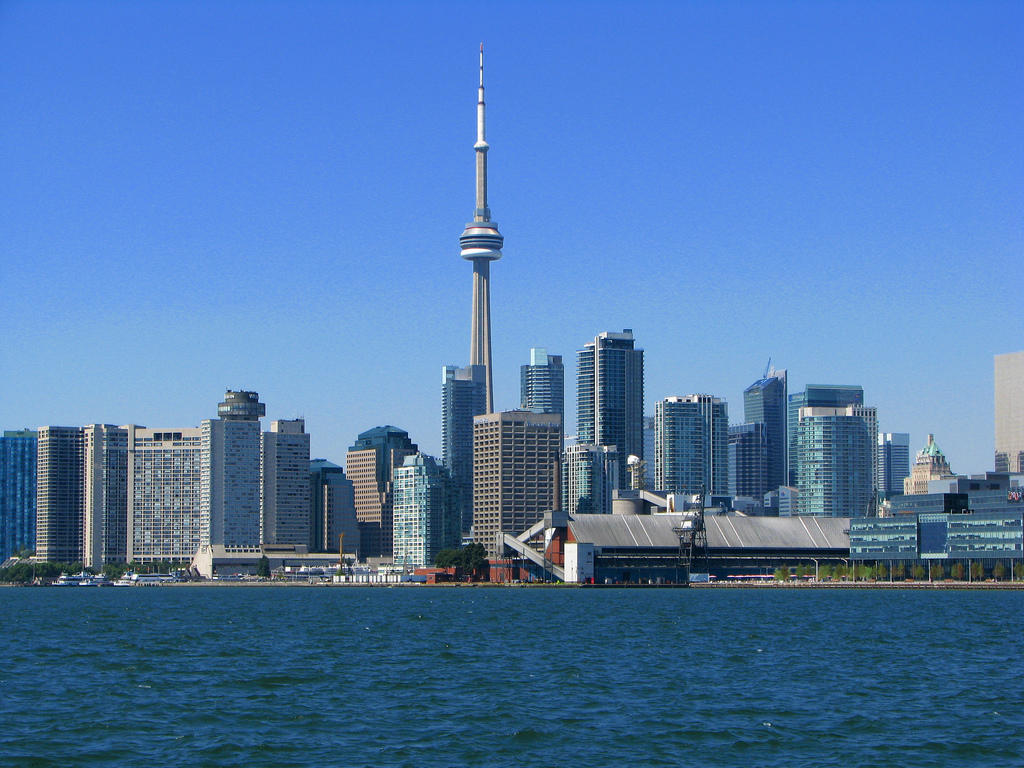 Toronto skyline; Michael Gil, Flickr Creative Commons