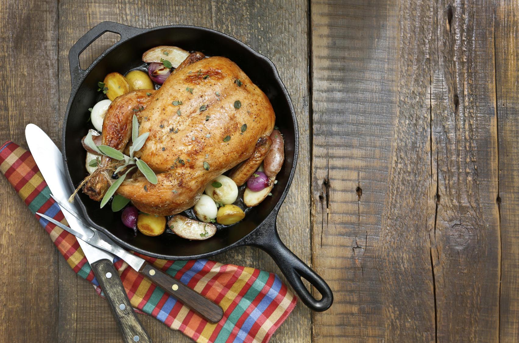 Thomas Keller's Roast Chicken Recipe | TLCme | TLC