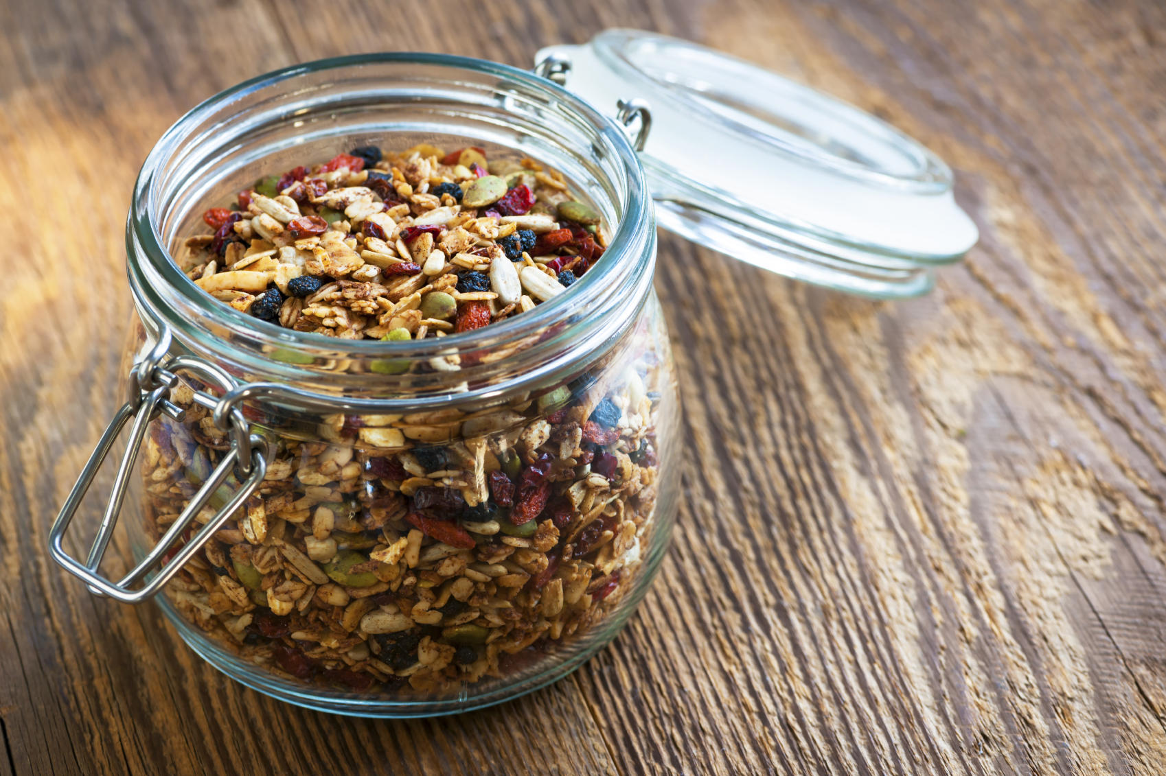 Try This Delicious Homemade Granola for Breakfast
