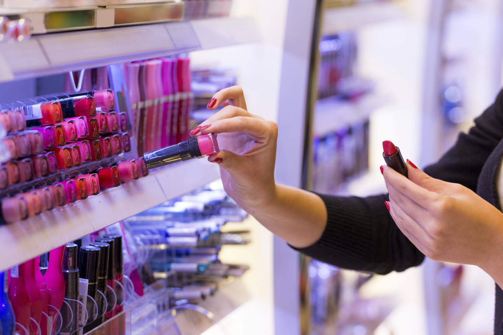 Cosmetics can be counterfeit