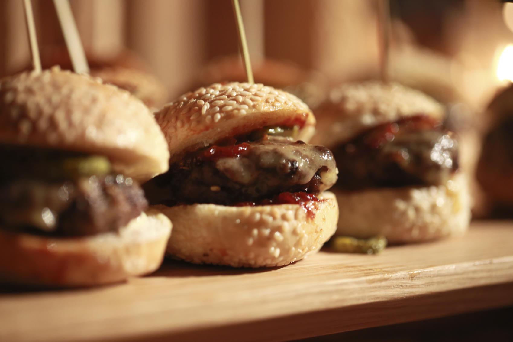 sliders hamburgers