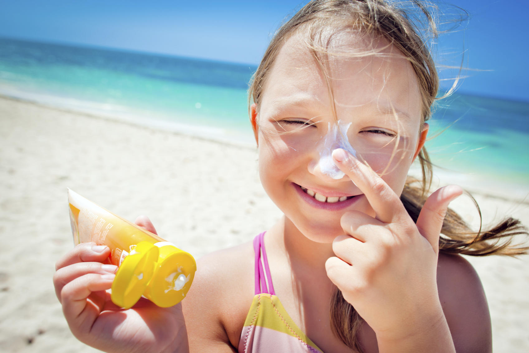 sunscreen and kids