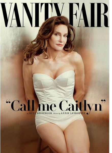 bruce jenner reveals new transgender identity caitlyn jenner on cover of Vanity Fair magazine