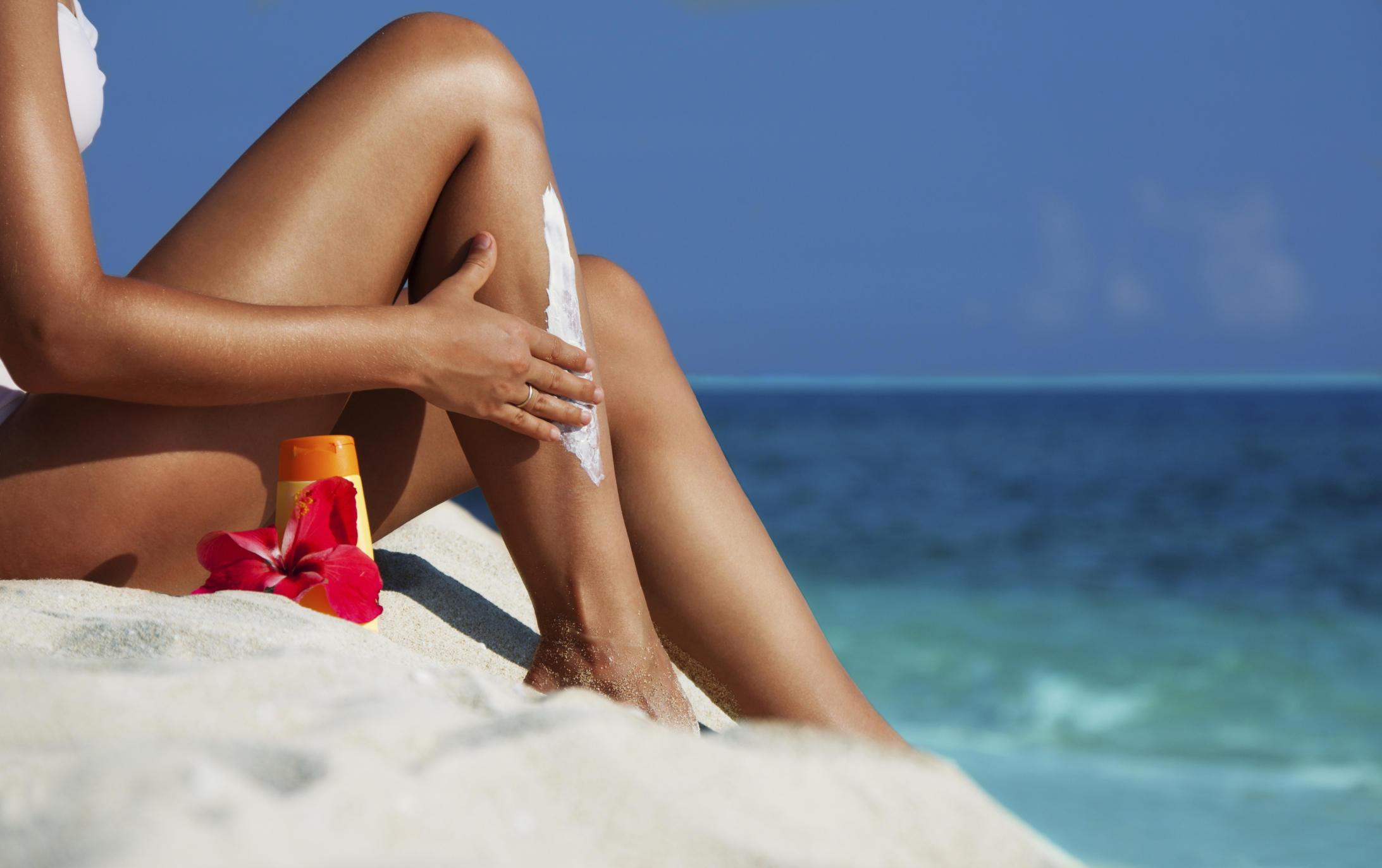 bathing suit sunscreen