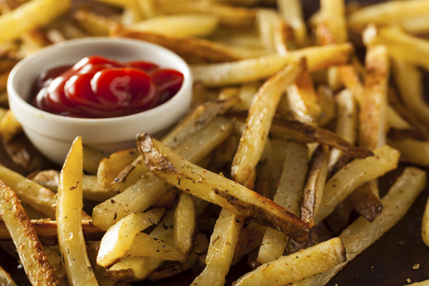 Homemade Oven Baked French Fries