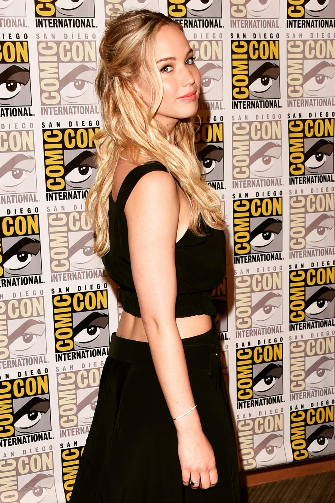 Jennifer Lawrence at Comic Con