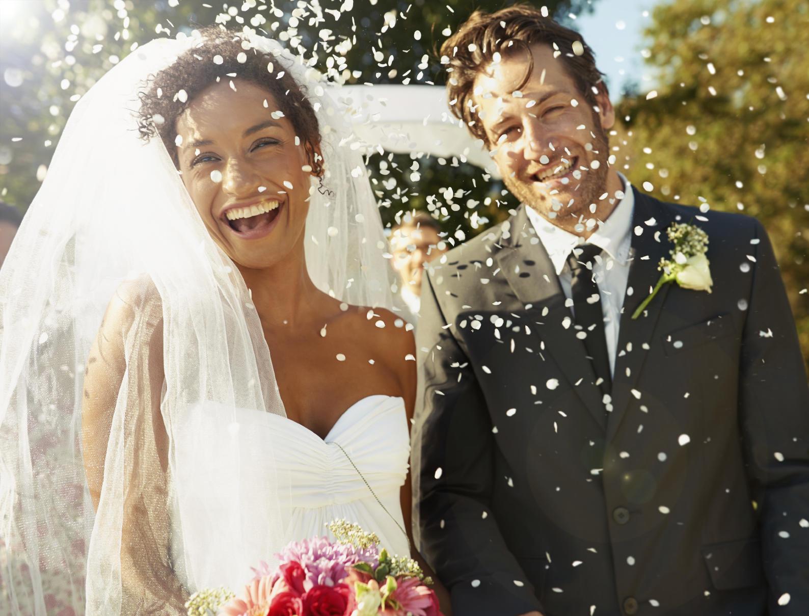wedding couple bride groom ceremony