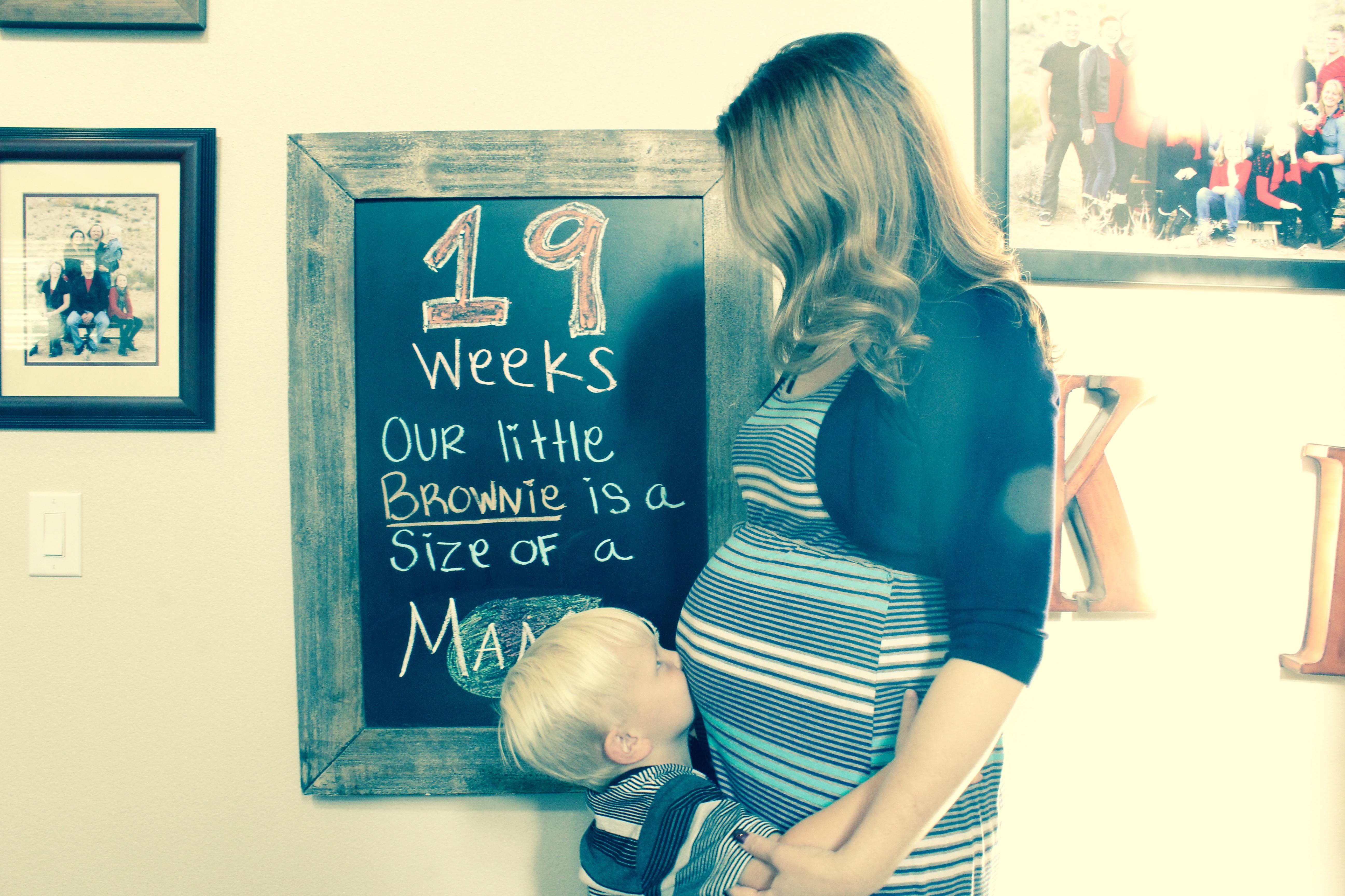 Robyn pregnancy 19 week