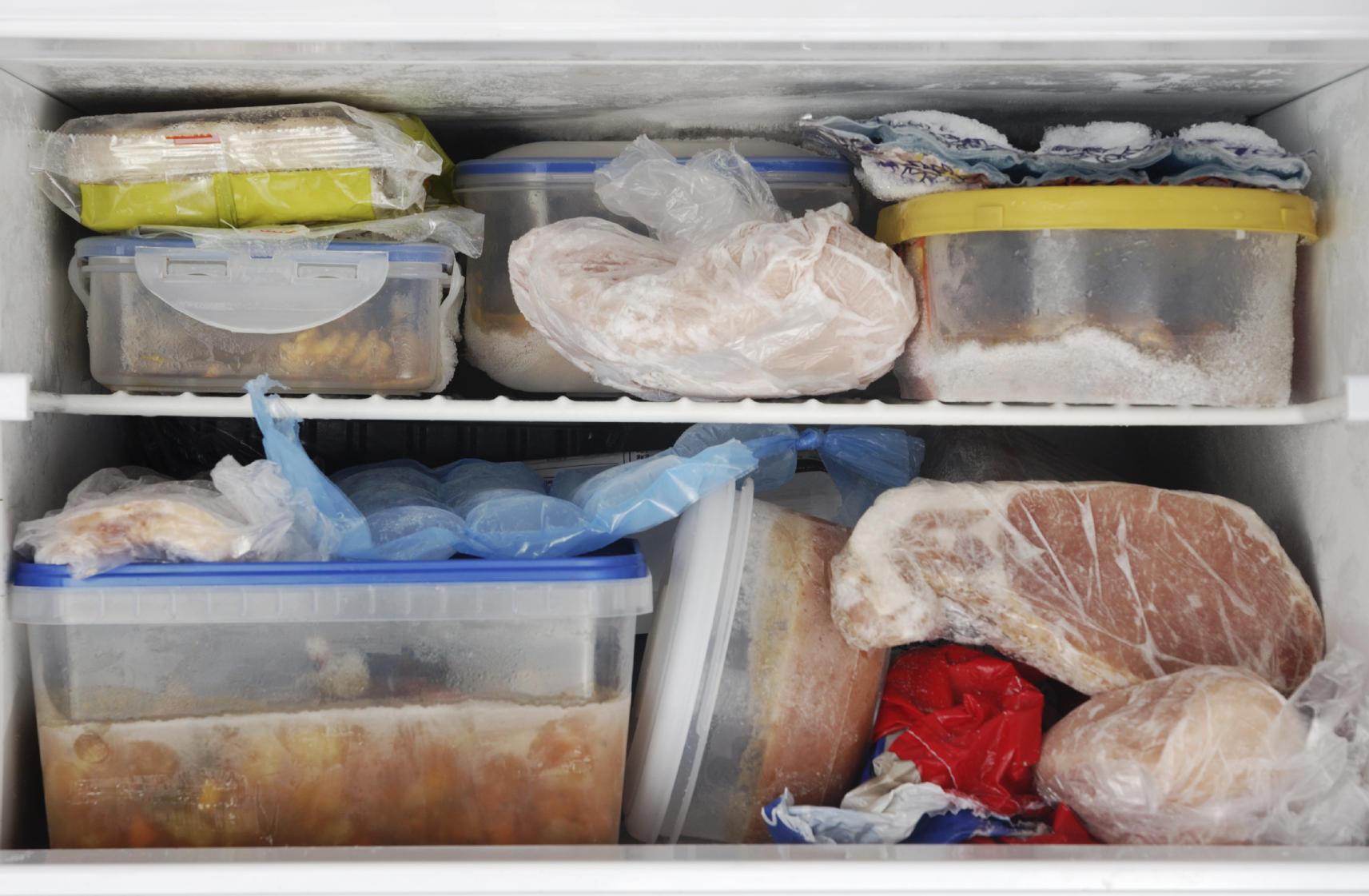 freezer frozen meals